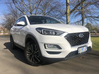 2020 Hyundai Tucson TL4 MY21 Active X 2WD Pure White 6 Speed Automatic Wagon.