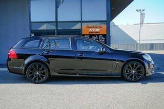 2016 Holden Commodore VF II MY16 SV6 Sportwagon Black Black 6 Speed Sports Automatic Wagon.