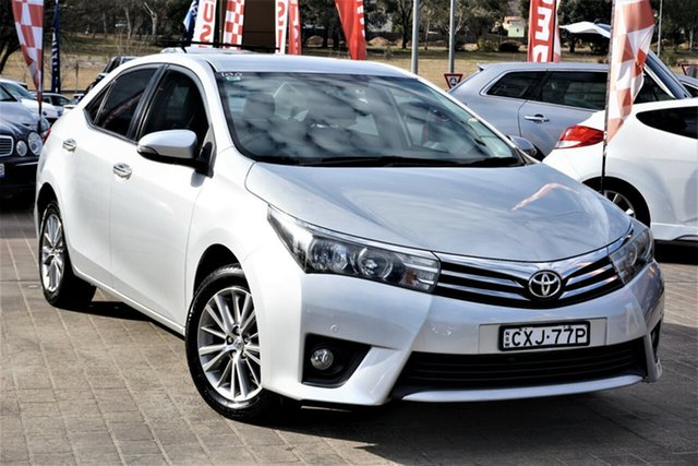Used Toyota Corolla ZRE182R Ascent S-CVT Phillip, 2014 Toyota Corolla ZRE182R Ascent S-CVT Silver 7 Speed Constant Variable Hatchback