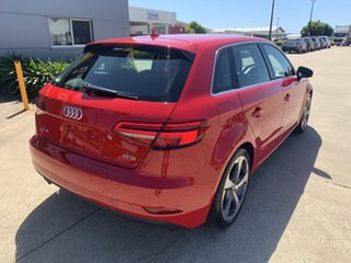 2016 Audi A3 8V MY16 Attraction Sportback S Tronic Red 7 Speed Sports Automatic Dual Clutch.