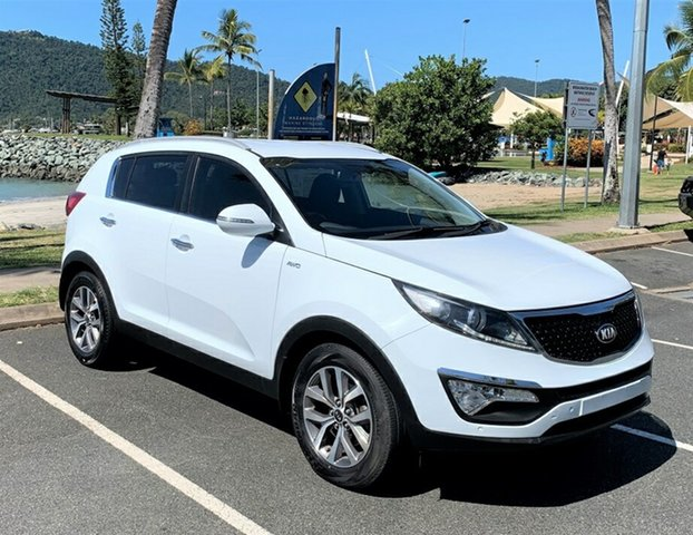 Used Kia Sportage QL MY16 SLi AWD Proserpine, 2015 Kia Sportage QL MY16 SLi AWD White Automatic
