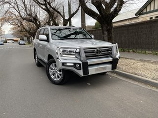 2019 Toyota Landcruiser VDJ200R Sahara Silver 6 Speed Sports Automatic Wagon.