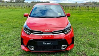 2021 Kia Picanto JA MY22 GT-Line Signal Red 4 Speed Automatic Hatchback.