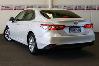 2018 Toyota Camry ASV70R Ascent Frosted White 6 Speed Automatic Sedan.