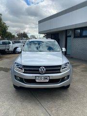 2016 Volkswagen Amarok 2H MY16 TDI420 4Motion Perm Highline Silver 8 Speed Automatic Utility.