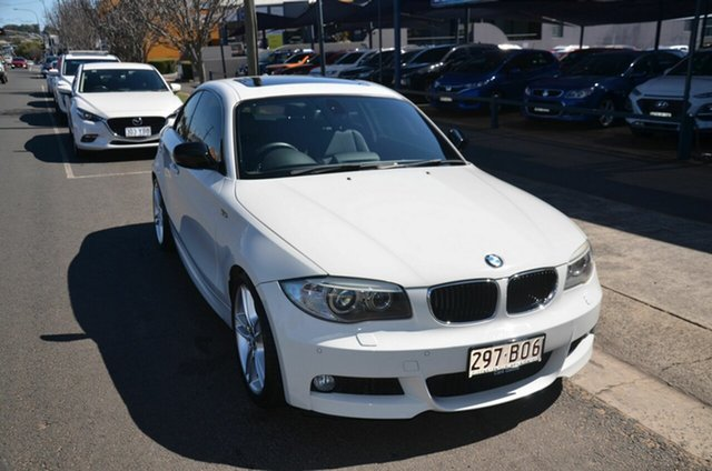 Used BMW 120i E82 MY13 Update Toowoomba, 2013 BMW 120i E82 MY13 Update White 6 Speed Automatic Coupe
