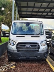 2020 Ford Transit 430E Moondust Silver 10 Speed Automatic Cab Chassis.