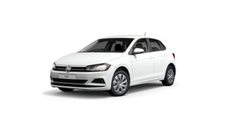 2021 Volkswagen Polo AW MY21 85TSI DSG Comfortline Pure White 7 Speed Sports Automatic Dual Clutch.