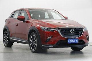 2020 Mazda CX-3 DK2W7A sTouring SKYACTIV-Drive FWD Burgundy 6 Speed Sports Automatic Wagon