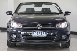 2011 Volkswagen EOS 1F MY11 103TDI DSG Black 6 Speed Sports Automatic Dual Clutch Convertible