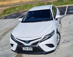 2018 Toyota Camry AXVH71R Ascent Sport White 6 Speed Constant Variable Sedan Hybrid.