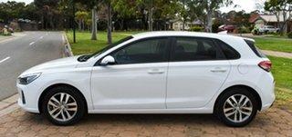 2017 Hyundai i30 PD MY18 Active White 6 Speed Manual Hatchback