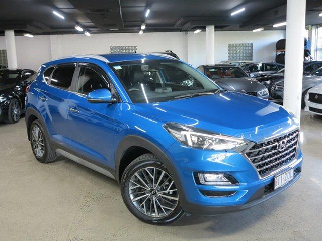 Used Hyundai Tucson TL3 MY20 Elite 2WD Albion, 2020 Hyundai Tucson TL3 MY20 Elite 2WD Aqua Blue 6 Speed Automatic Wagon