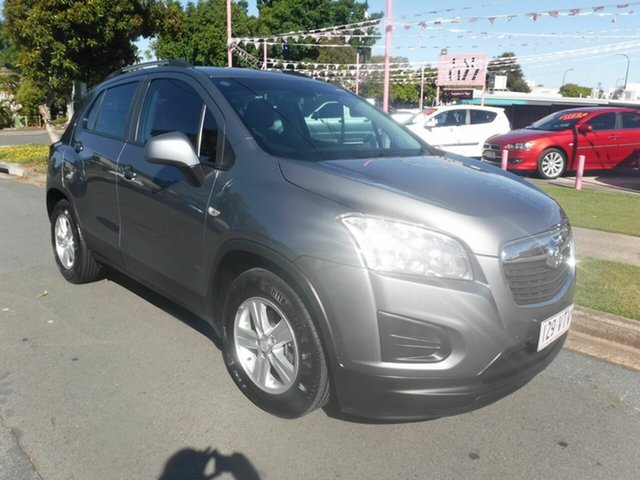 Used Holden Trax TJ LS Margate, 2015 Holden Trax TJ LS Grey 6 Speed Automatic Wagon