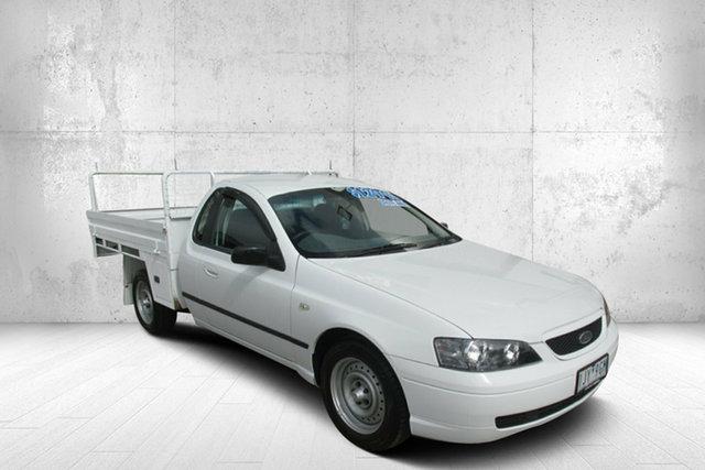 Used Ford Falcon BA XL Ute Super Cab Bendigo, 2004 Ford Falcon BA XL Ute Super Cab White 4 Speed Automatic Utility
