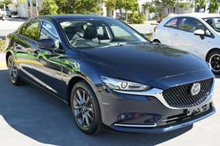 2021 Mazda 6 GL1033 Touring SKYACTIV-Drive Deep Crystal Blue 6 Speed Sports Automatic Sedan.
