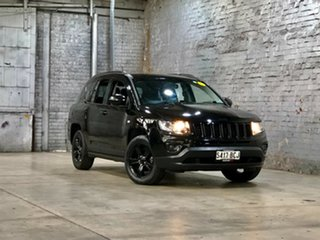 2014 Jeep Compass MK MY14 Blackhawk CVT Auto Stick Black 6 Speed Constant Variable Wagon.