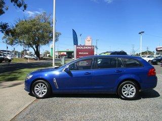 2016 Holden Commodore VF II MY16 Evoke Sportwagon Blue 6 Speed Sports Automatic Wagon.