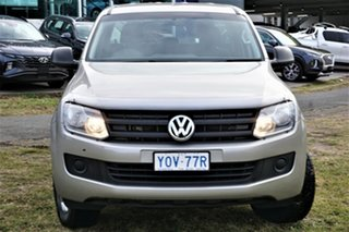2015 Volkswagen Amarok 2H MY15 TDI420 4MOTION Perm Core Beige 8 Speed Automatic Utility.