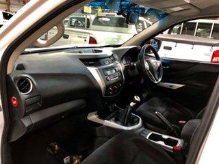 2016 Nissan Navara D23 RX 4x2 White 6 Speed Manual Cab Chassis