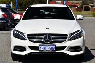 2015 Mercedes-Benz C-Class W205 C250 BlueTEC 7G-Tronic + White 7 Speed Sports Automatic Sedan