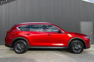 2021 Mazda CX-8 KG2WLA Sport SKYACTIV-Drive FWD Soul Red Crystal 6 Speed Sports Automatic Wagon.