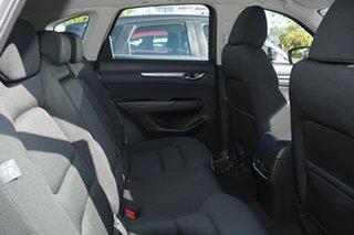 2021 Mazda CX-5 KF2W7A Maxx SKYACTIV-Drive FWD Sport White Pearl 6 Speed Sports Automatic Wagon.