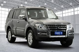 2018 Mitsubishi Pajero NX MY19 Exceed Grey 5 Speed Sports Automatic Wagon.
