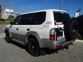 2000 Toyota Landcruiser Prado VZJ95R GXL (4x4) White 4 Speed Automatic 4x4 Wagon