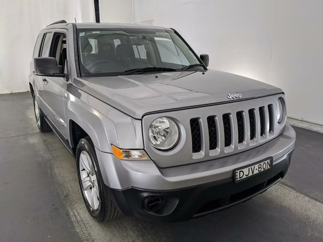 Used Jeep Patriot MK MY16 Sport CVT Auto Stick 4x2 Maryville, 2015 Jeep Patriot MK MY16 Sport CVT Auto Stick 4x2 Silver 6 Speed Constant Variable Wagon