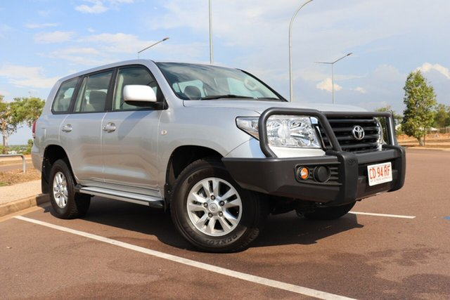 Pre-Owned Toyota Landcruiser VDJ200R MY10 GXL Palmerston, 2010 Toyota Landcruiser VDJ200R MY10 GXL Silver Pearl 6 Speed Automatic Wagon