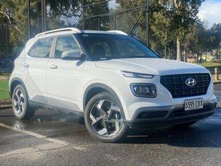 2021 Hyundai Venue QX.V3 MY21 Active Polar White 6 Speed Automatic Wagon.