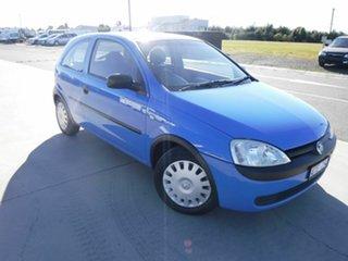 2002 Holde Barina XC SRi Blue 5 Speed Manual Hatchback.