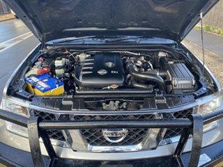 2013 Nissan Navara D40 S7 MY12 RX Grey 6 Speed Manual Utility.