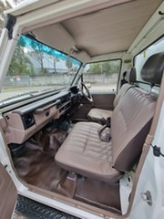 1992 Toyota Landcruiser HZJ75RP White 5 Speed Manual Utility