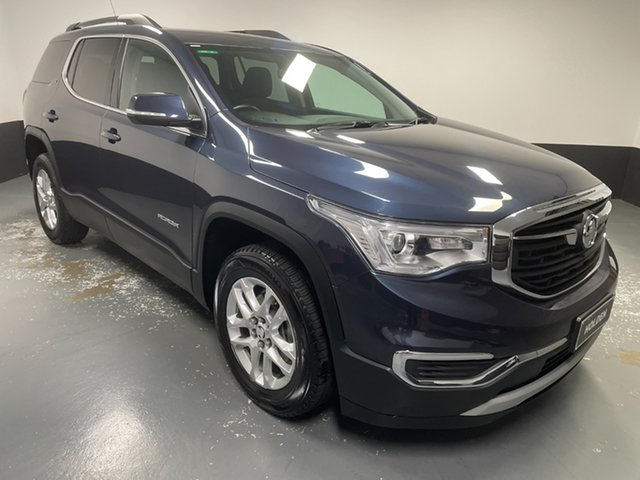 Used Holden Acadia AC MY19 LT 2WD Cardiff, 2019 Holden Acadia AC MY19 LT 2WD Blue 9 Speed Sports Automatic Wagon
