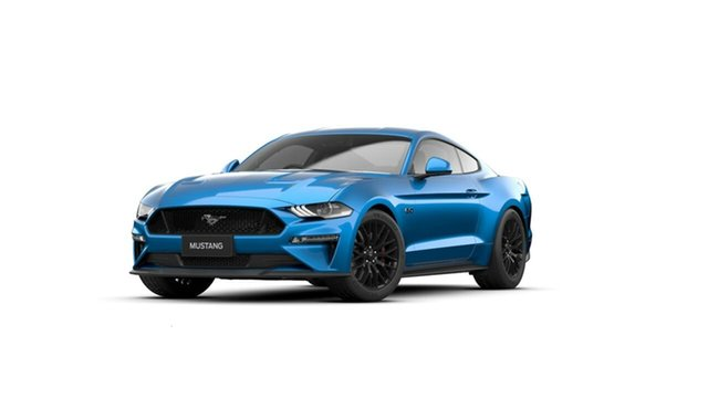 Used Ford Mustang FN 2020MY GT Midland, 2020 Ford Mustang FN 2020MY GT Blue 10 Speed Sports Automatic Fastback