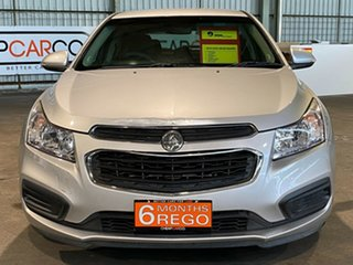 2015 Holden Cruze JH Series II MY15 Equipe Silver 6 Speed Sports Automatic Hatchback