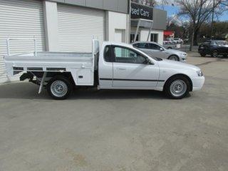 2004 Ford Falcon BA XL Ute Super Cab White 4 Speed Automatic Utility.