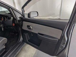 2007 Nissan Tiida C11 MY07 ST Grey 4 Speed Automatic Hatchback