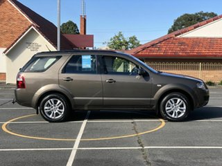 2010 Ford Territory SY MkII TS RWD Brown 4 Speed Sports Automatic Wagon.