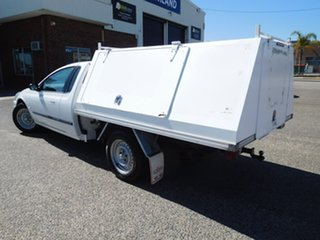 2002 Ford Falcon AU II XL Super Cab White 4 Speed Automatic Cab Chassis