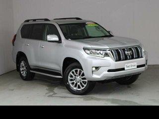 2020 Toyota Landcruiser Prado Silver Pearl Automatic Wagon