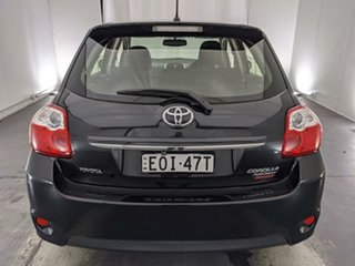 2012 Toyota Corolla ZRE152R MY11 Ascent Sport Black 4 Speed Automatic Hatchback