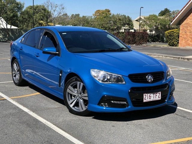 Used Holden Commodore VF MY14 SV6 Chermside, 2013 Holden Commodore VF MY14 SV6 Blue 6 Speed Manual Sedan