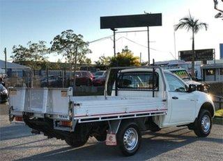 2013 Mitsubishi Triton MN GLX White 4 Speed Sports Automatic Cab Chassis