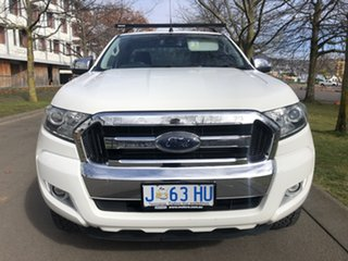 2016 Ford Ranger PX MkII XLT Super Cab 4x2 Hi-Rider White 6 Speed Sports Automatic Utility
