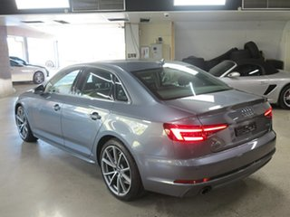 2018 Audi A4 B9 8W MY18 S Line S Tronic Grey 7 Speed Sports Automatic Dual Clutch Sedan