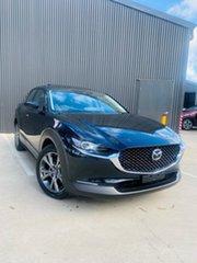2021 Mazda CX-30 DM4WLA G25 SKYACTIV-Drive i-ACTIV AWD Astina Jet Black 6 Speed Sports Automatic.