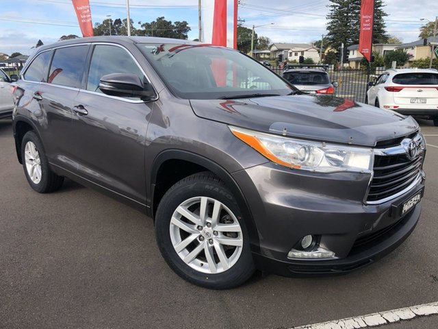 Used Toyota Kluger Cardiff, 2015 Toyota Kluger Grey Wagon